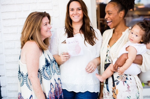 Meet Cheri who owns Ollie and Me, Alissa who owns the Printed Palette, and Krystal who owns The Village Magazine. These are the creative masterminds behind this event.